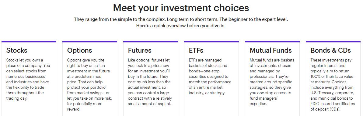 E*TRADE Trading Services
